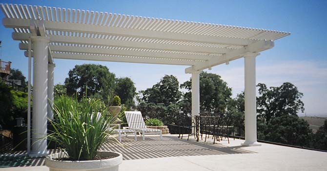 Covered Detached Patio Cover