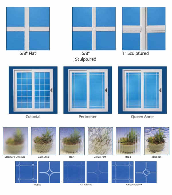 Anlin Glass Grid Styles and Patterns