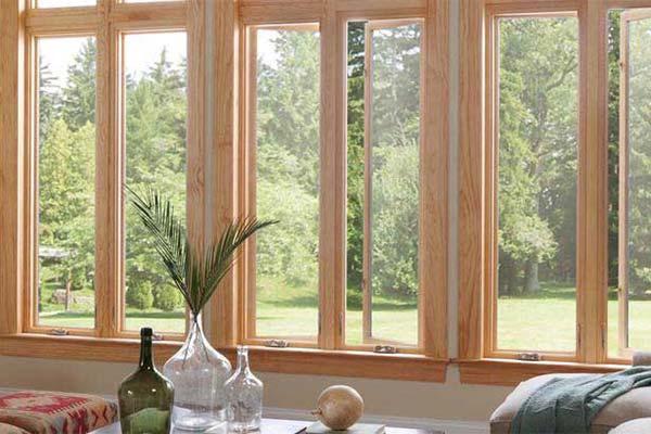 Milgard Essence Wood Windows