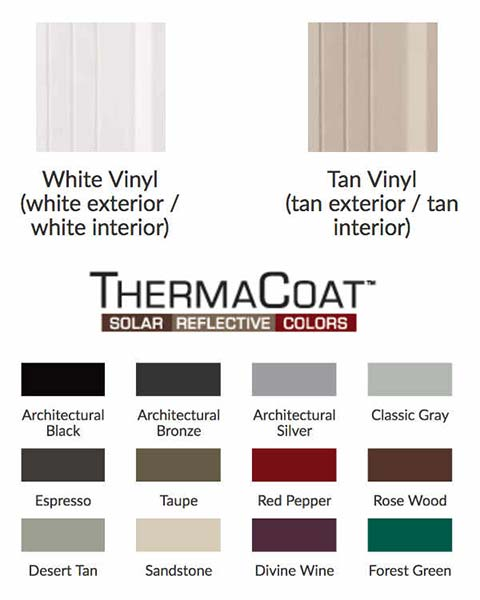 Anlin Door Color Options