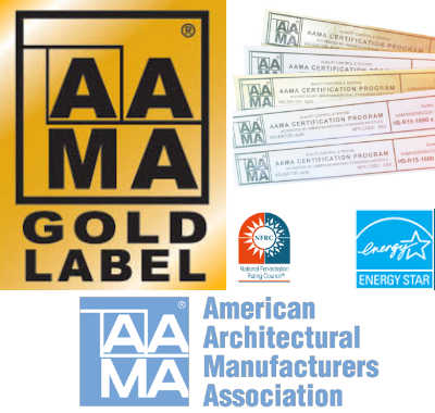 Anlin Labels and Certifications