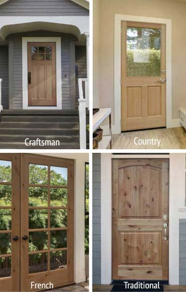 Builders Choice Door Styles