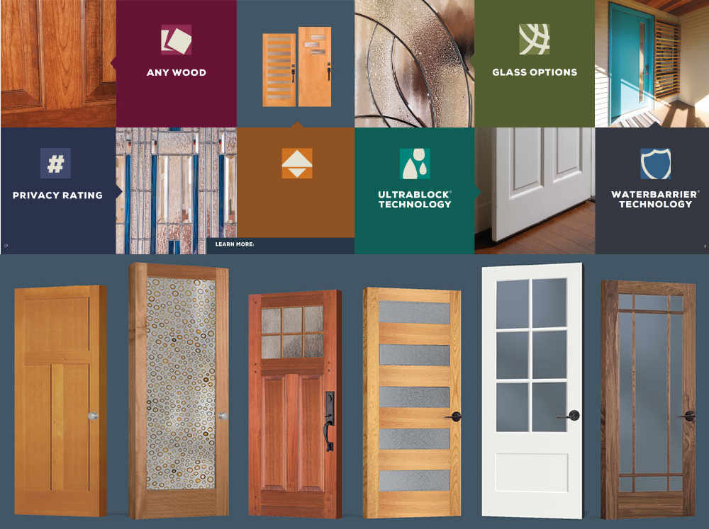 Choose Simpson Doors from Catalog