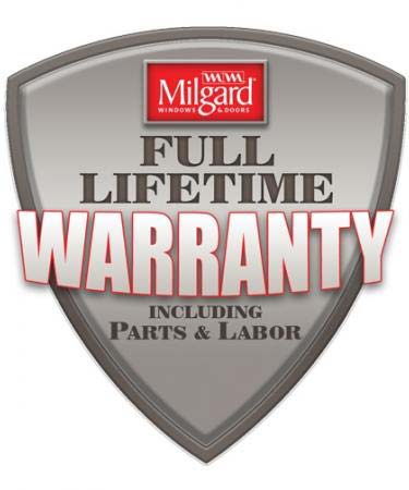 Milgard Lifetime Warranty