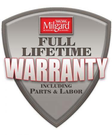 Milgard Lifetime Warranty