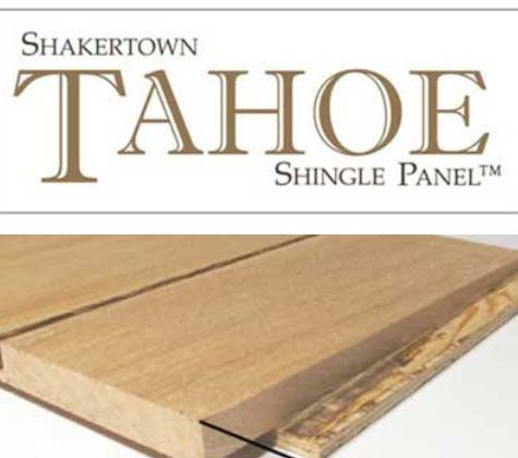 Tahoe shingle Panel Siding