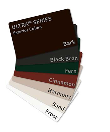 Milgard Ultra Exterior Window Frame Colors