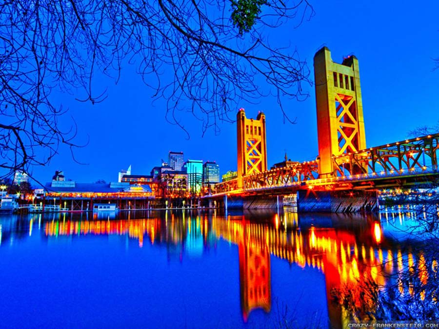 Night Time in Sacramento