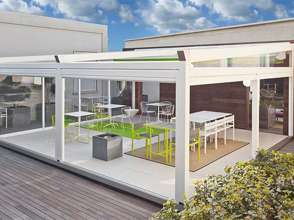 Corradi B Space Patio Cover