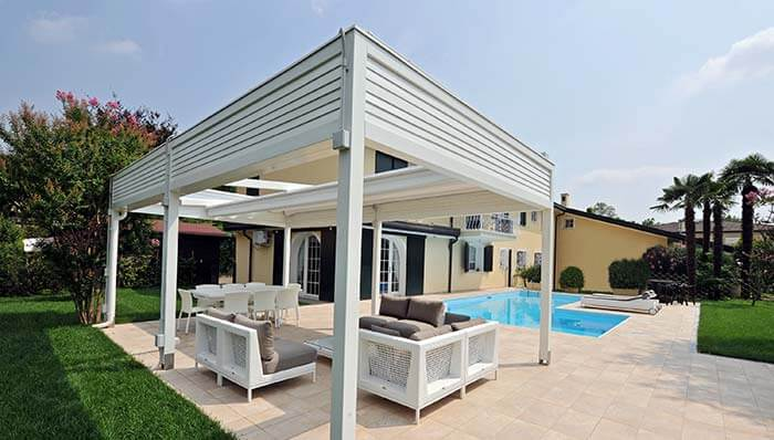 Corradi Wood Patio Covers