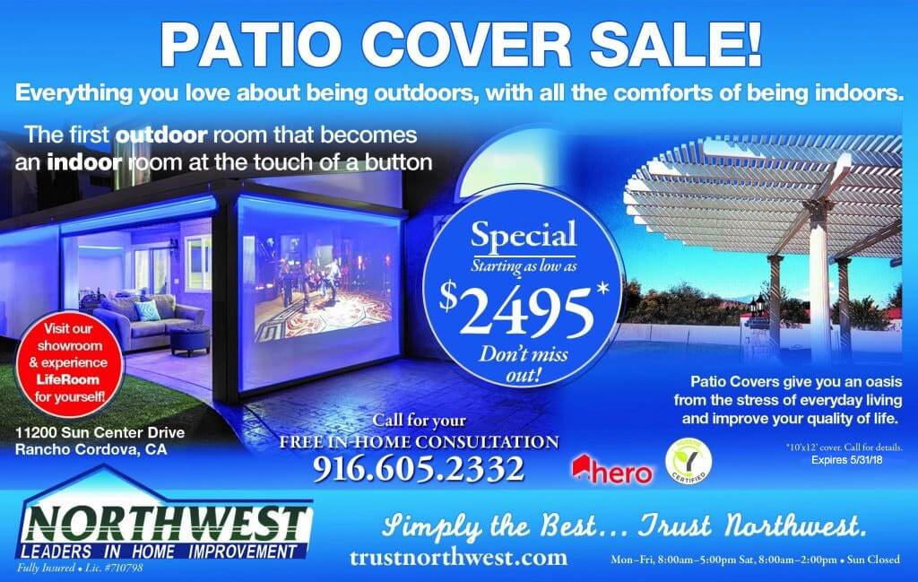 Special offer on Patio Covers