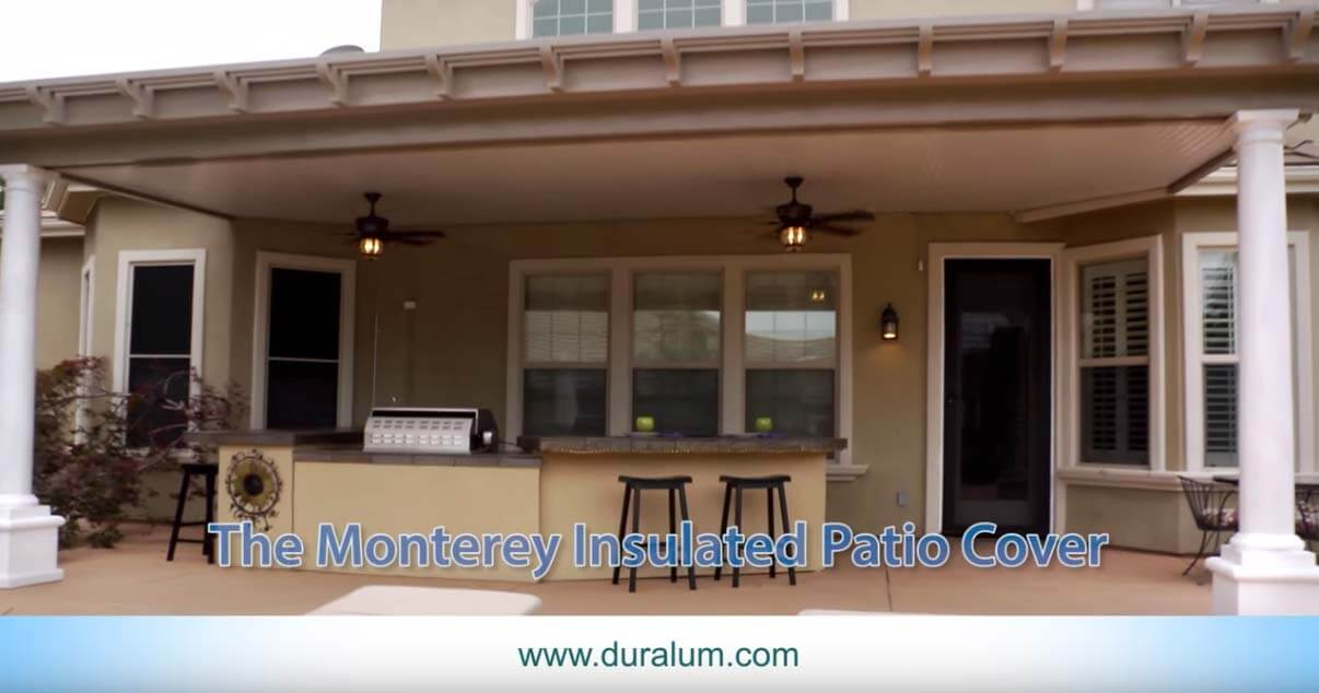 Monterey Insulated Patio Cover Video Thumbnail