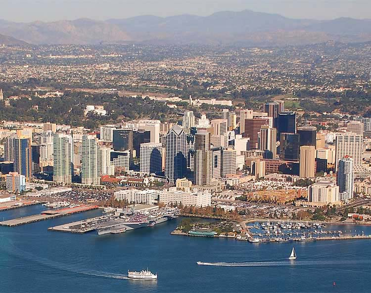 San Diego City Harbor