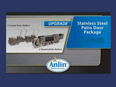 Sliding Door Rollers in Stainless Steel Recommended for San Diego Climate