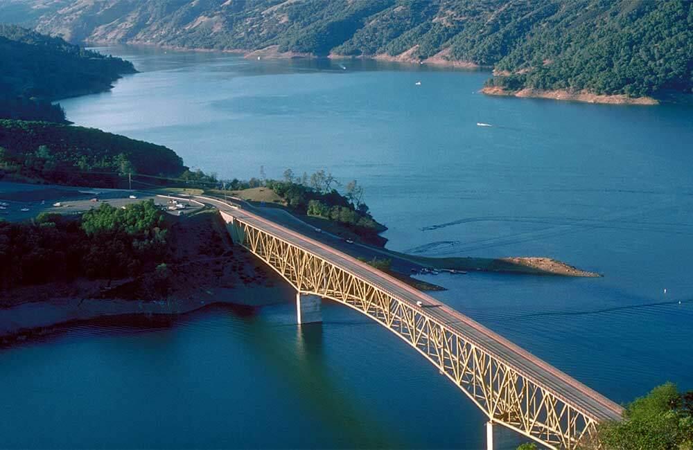 Sonoma Lake Aerial View