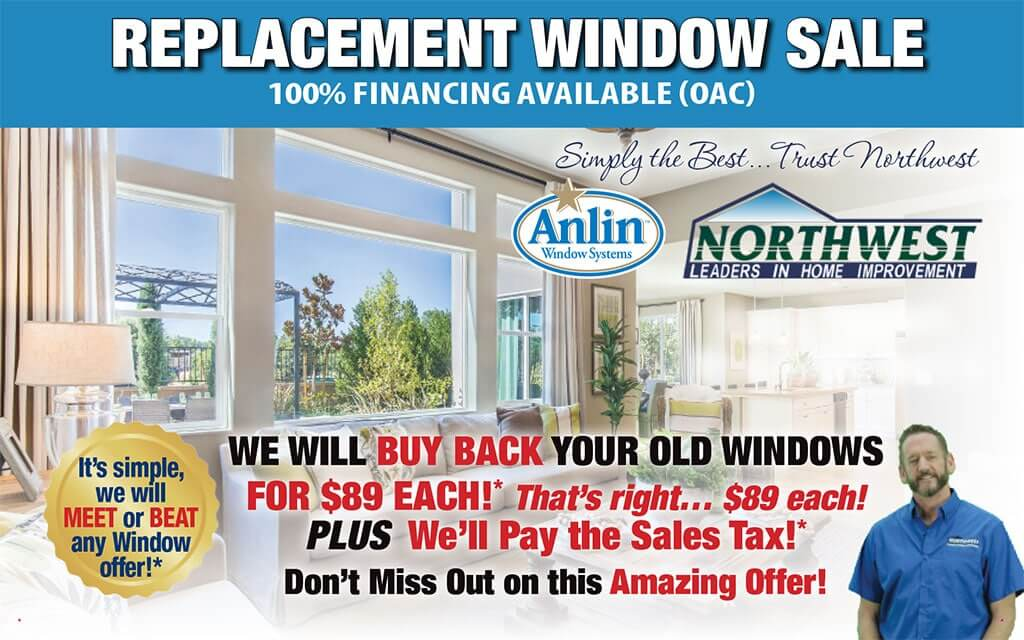 Special Offer on Replacement Windows