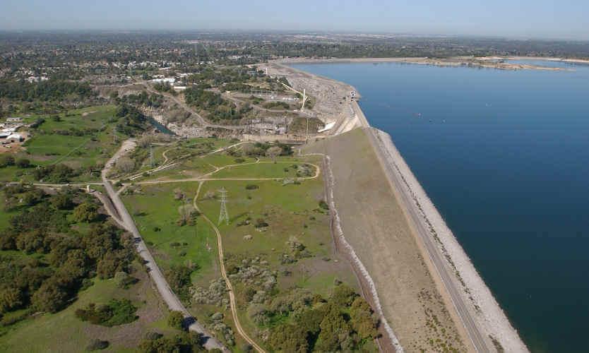 Dam in Folsom, CA