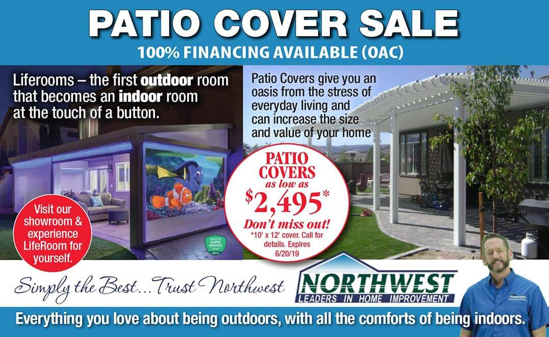 patio cover special offer
