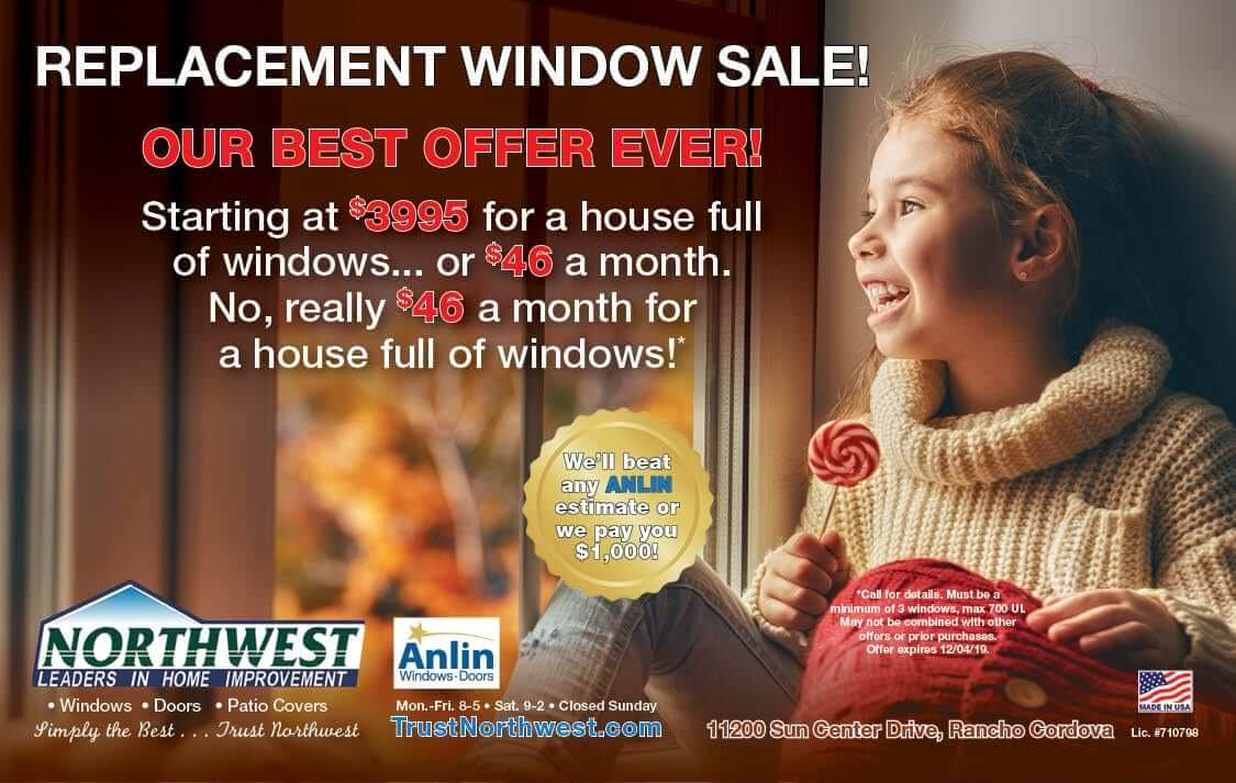 Best Replacement Window Deal We Have Ever Offered