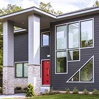 Cellular Composite Exterior Siding